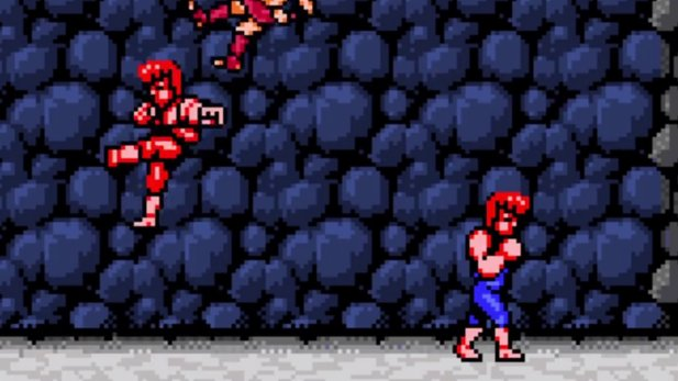 Double Dragon 4 - Gameplayvideo zur Retro-Fortsetzung des Beat'em-Up-Klassikers