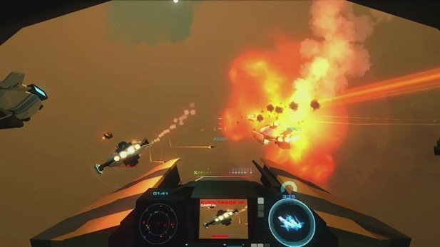 Enemy Starfighter - Gameplay-Trailer zum Weltraum-Shooter