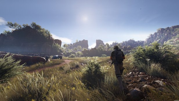 Ghost Recon: Wildlands - Gameworks-Trailer zeigt Nvidias Effekte, die eine Geforce-Grafikkarte voraussetzen