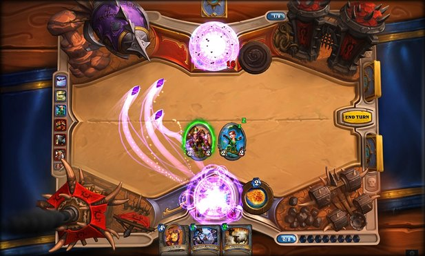 Hearthstone: Heroes of Warcraft bietet Cross-Platform-Play.