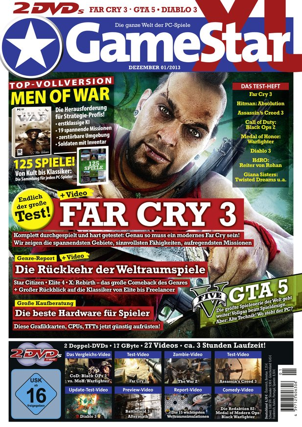 GameStar 01/13 – ab dem 28.11. am Kiosk