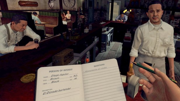 L.A. Noire - The VR Case Files - Gameplay-Video aus der VR-Version