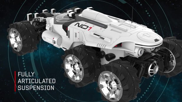 Mass Effect: Andromeda - Collector's-Edition-Trailer zeigt den ferngesteuerten Nomad ND1