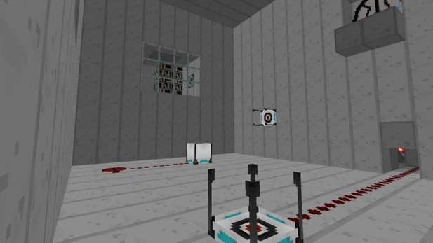 Video zur Portal-Mod von Minecraft