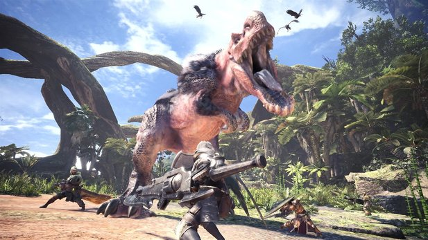 Monster Hunter World legt einen grandiosen Start hin.