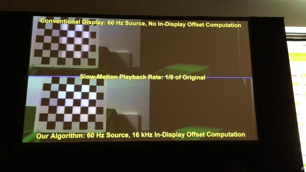 Nvidia zeigt ein AR-Display mit 16.000 Hz. (Screenshot Youtube)