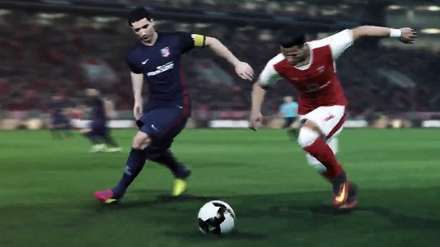Pro Evolution Soccer 2017 - E3-Teaser-Trailer