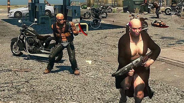 Test-Video von Saints Row: The Third