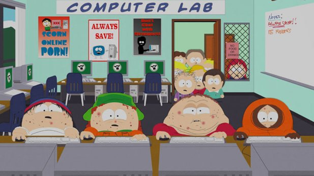 »South Park: Make Love, not Warcraft« persiflierte liebevoll den Hype um WoW.
