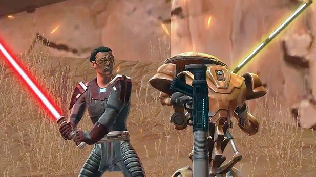 Content-Trailer von Star Wars: The Old Republic
