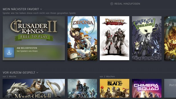 This is what my next favorite looks like in your library on Steam. What is first for you?
