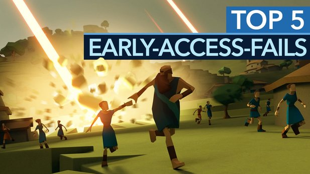 Steam - Die 5 größten Early-Access-Fails
