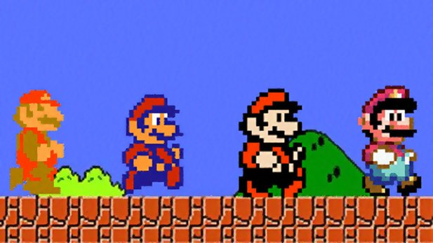 Super Mario - Hall of Fame zu den Jump&Run-Klassikern