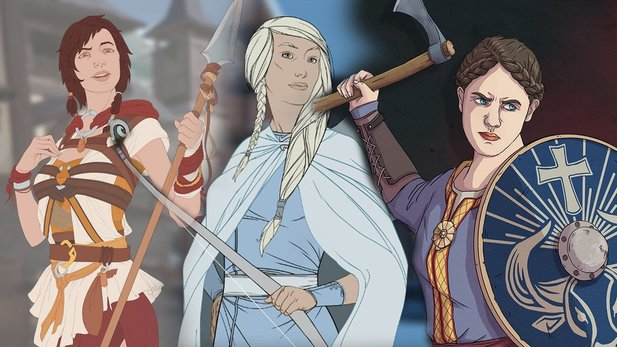 Ash of Gods: Redemption und The Great Whale Road: Ideal für Fans von The Banner Saga?
