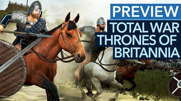 Total War: Thrones of Britannia - Vorschau-Video: So gut wird das neue Mittelalter-Total-War