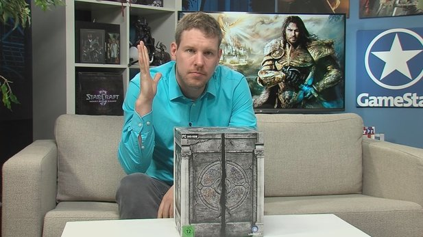 Unboxing: Might & Magic Heroes 7 Collector's Edition - Mit Tarot-Karten für die Kneipe