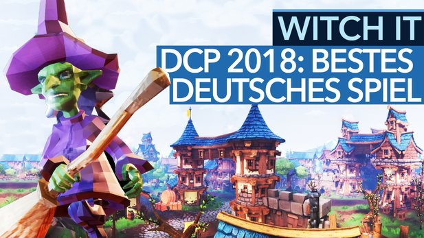 "Witch It - Video-Special zum DCP-Gewinner ""bestes deutsches Spiel 2018"""