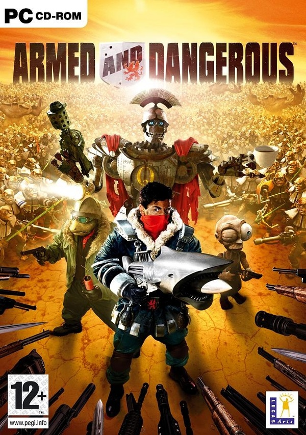 Cover zu Armed & Dangerous