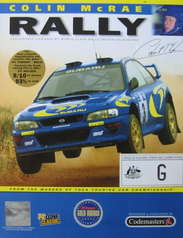 Cover zu Colin McRae Rally