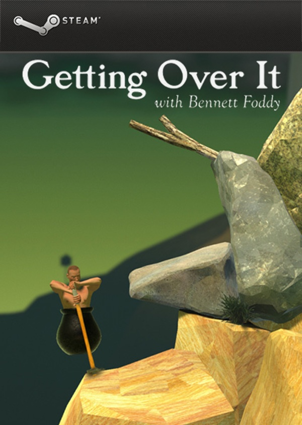 Cover zu Getting Over It with Bennett Foddy