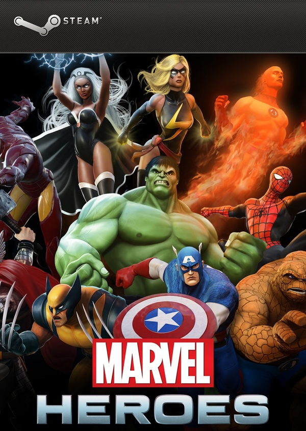 Cover zu Marvel Heroes