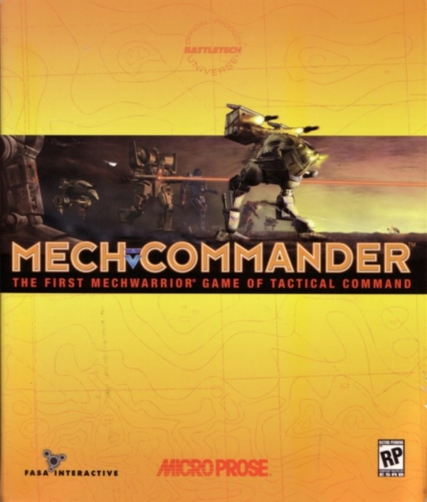 Cover zu MechCommander