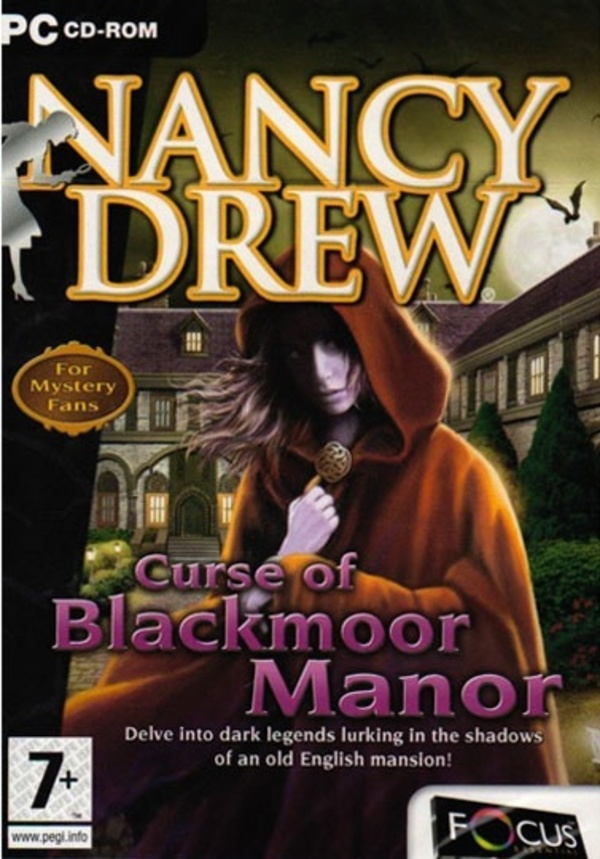 Cover zu Nancy Drew: Curse of Blackmoor Manor