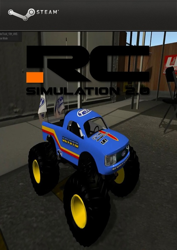 Cover zu RC Simulation 2.0