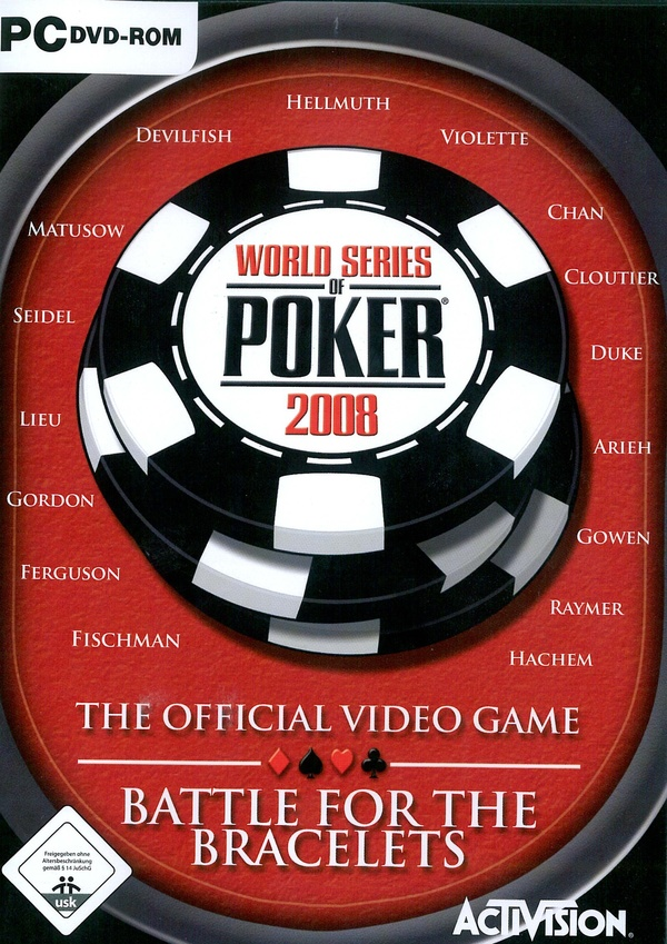 Cover zu World Series of Poker 2008