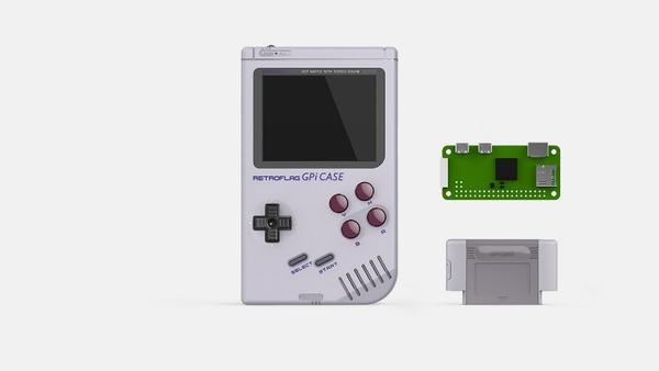 Mini-PC für Nintendo-Klassiker im Gameboy-Gehäuse mit Farb-Display