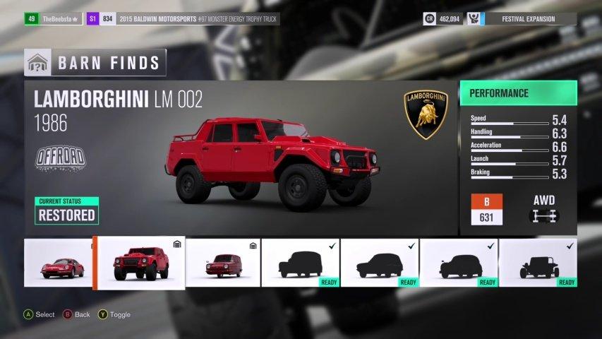 Forza Horizon  Car Pass Price
