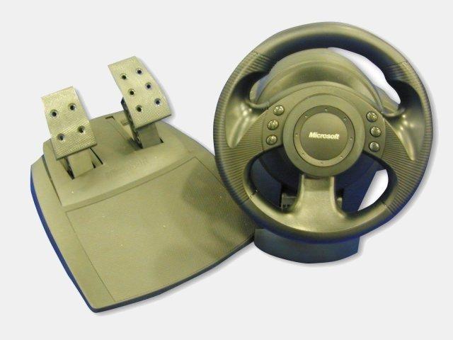 microsoft precision racing wheel gamestar. Black Bedroom Furniture Sets. Home Design Ideas