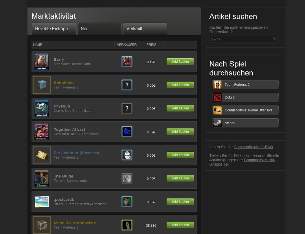 Steam Karte Kaufen.Steam Sammelkarten Guide Zu Den Steam Trading Cards