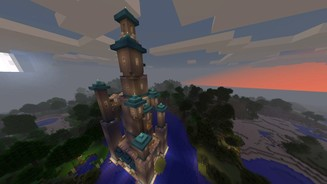 Minecraft Toadstool Tower 02