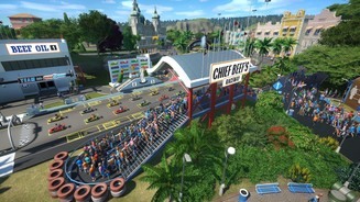 Planet Coaster - Screenshots zum Frühlings-Update