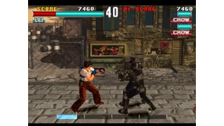 Final Tekken Fight? Tekken 3 features a number of modes, including a dodgeball like mode and this classic punch-em-up style game.