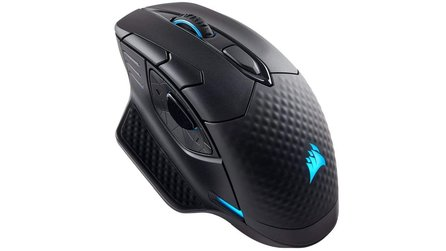 Corsair Dark Core Wireless-Maus, Lenovo IdealPad