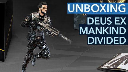 Deus Ex: Mankind Divided - Unboxing der Collector's Edition