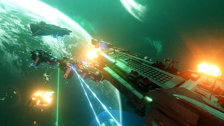 Executive Assault 2 - Teaser-Trailer zeigt Weltraumschlachten im Strategie-und Ego-Shooter-Modus
