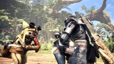 Monster Hunter World - Gameplay-Trailer zeigt wilde Kämpfe in der neuen Wildturm-Ödnis