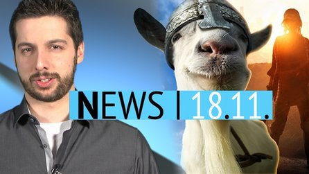 News - Dienstag, 18. November 2014 - Goat Simulator wird Gratis-MMO & Bilder-Leak aus Game of Thrones