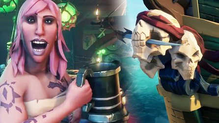 Sea of Thieves - Trailer: Charakter- und Schiffsanpassungen & Infinite Pirate Generator erklärt