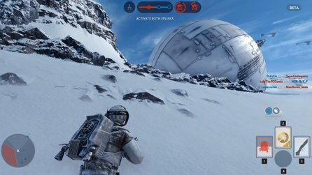 Star Wars: Battlefront - Gameplay-Video zeigt Map-»Exploit« zur Orbital-Kanone