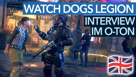 Watch Dogs Legion - Interview im englischen Original