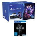 PlayStation VR + Camera + VR Worlds Voucher + Skyrim - VR Edition