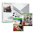 Xbox One S + BF1 + Ghost Recon Wildlands + For Honor