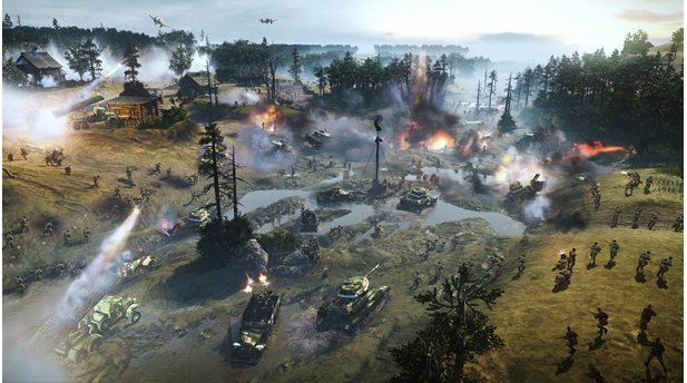 <b>Company of Heroes 2</b><br/>Screenshots aus dem DLC »Southern Fronts«
