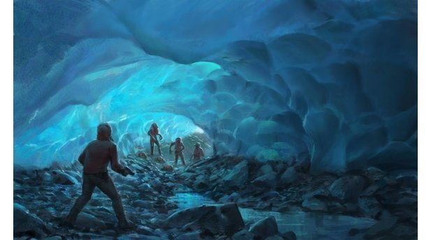 Project Borealis Underground Glacial Tunnels