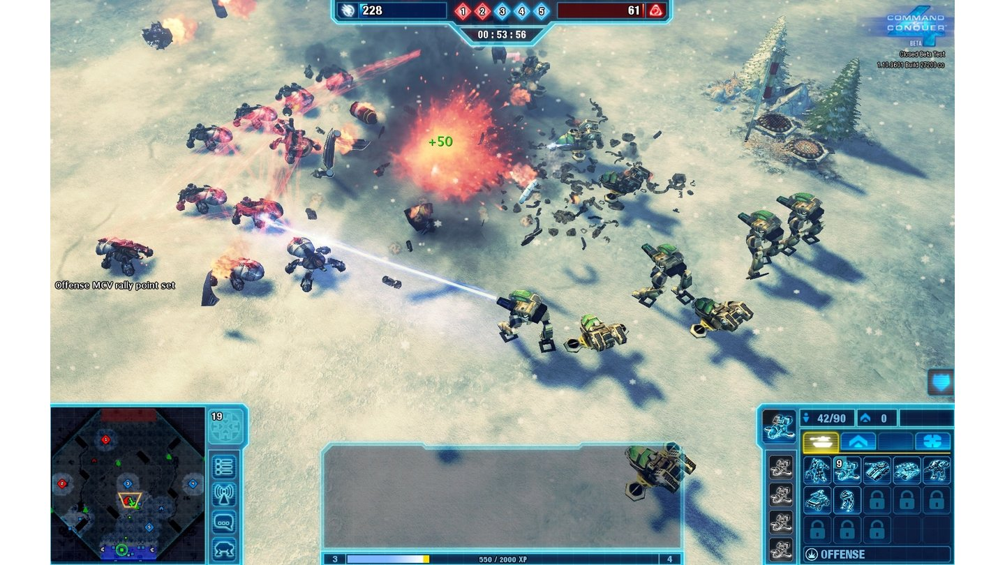 Command & Conquer 4: Beta-Screenshots