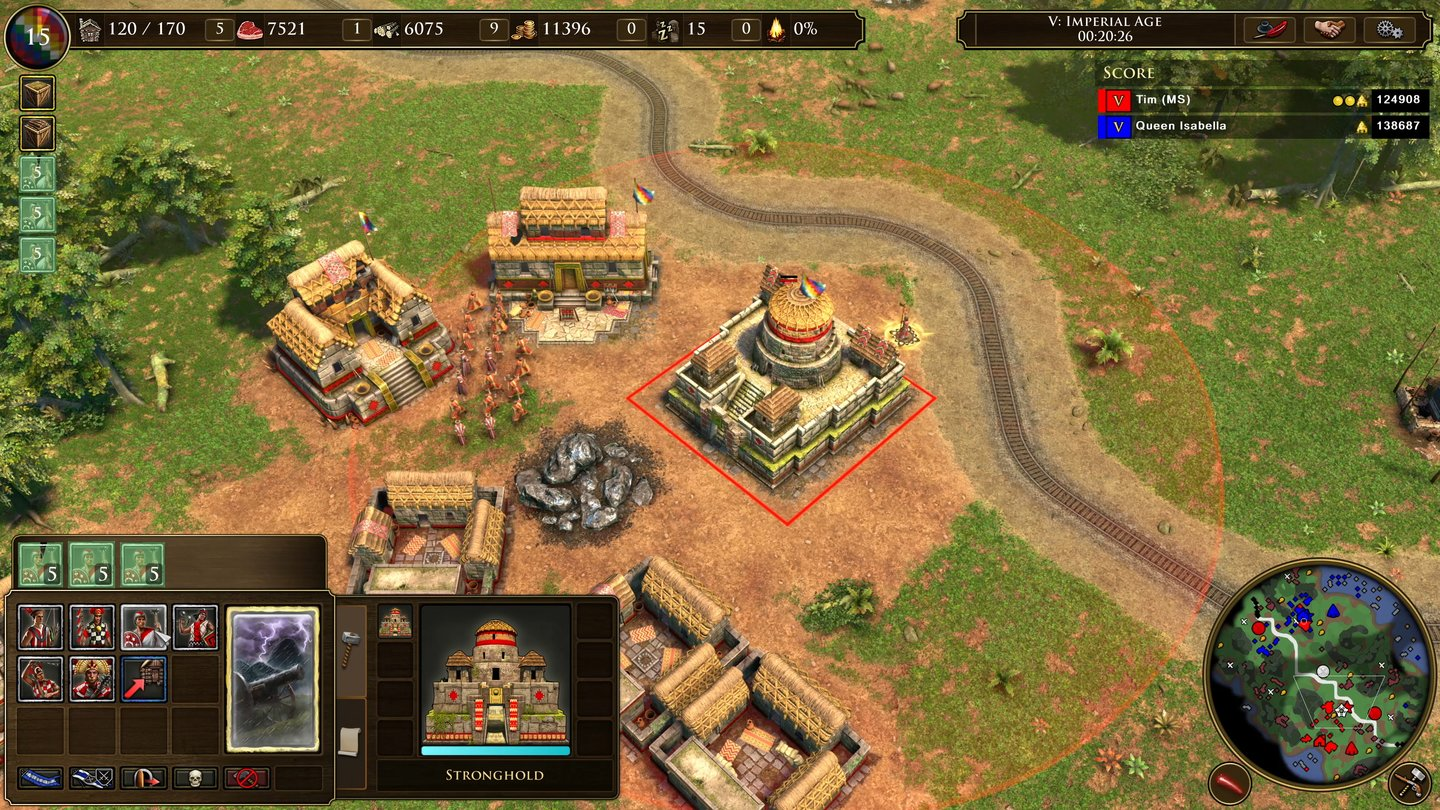 Age of Empires 3: Definitive Edition - Inka Stadt